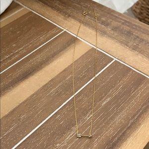 Baublebar Gold Arrow Necklace